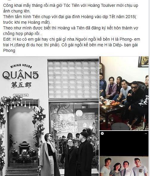 Hình ảnh Tóc Tiên thân thiết chụp ảnh cùng gia đình bạn trai Hoàng Touliver gây chú ý-3