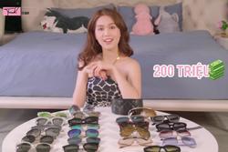 Ngọc Trinh bỏ hàng trăm triệu sắm kính vì 'đú trend' mà không cần biết có hợp với mình hay không