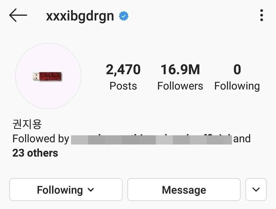 Chưa kịp ăn mừng Instagram cán mốc 17 triệu follow, G-Dragon đã bị fans cho ăn một vố troll cực đau-3