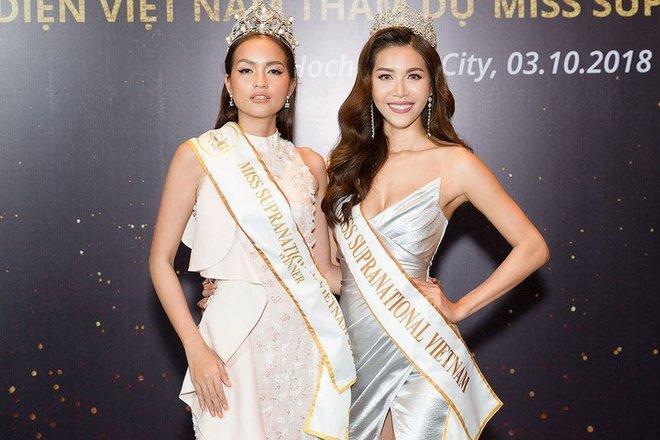 Ngọc Châu - Minh Tú thắng Back To Back: Việt Nam 2 năm liền là Hoa hậu Siêu quốc gia châu Á-1