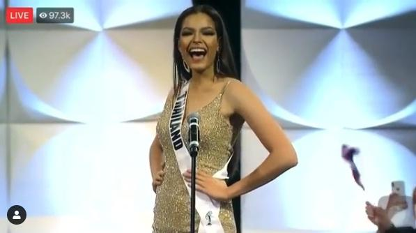 Hoàng Thùy thi bán kết Miss Universe 2019: Chào sân ấn tượng, diễn bikini an toàn, bùng nổ với dạ hội-5