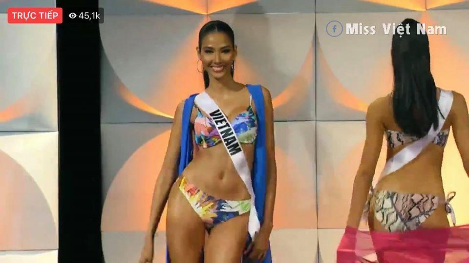 Hoàng Thùy thi bán kết Miss Universe 2019: Chào sân ấn tượng, diễn bikini an toàn, bùng nổ với dạ hội-10