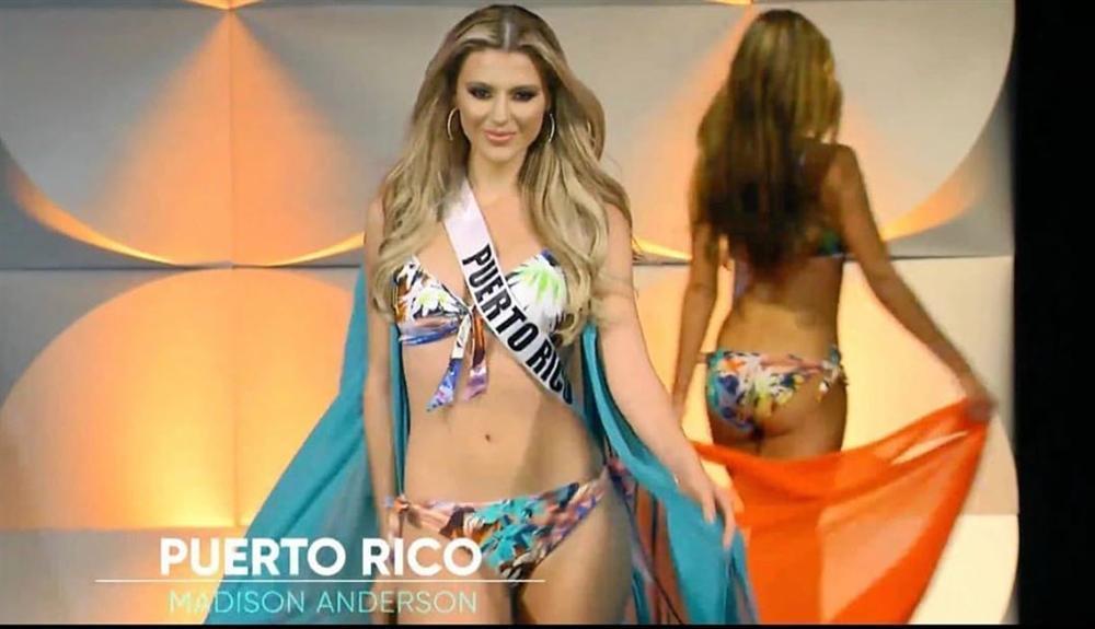 Hoàng Thùy thi bán kết Miss Universe 2019: Chào sân ấn tượng, diễn bikini an toàn, bùng nổ với dạ hội-13