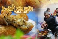 Quán bánh rán mặn 28 năm chỉ đun bằng bếp dầu hiếm thấy của cặp vợ chồng già Vĩnh Hồ
