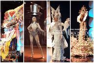 Top 10 quốc phục 'chất khỏi bàn' chỉ có ở Miss Universe 2019: Hoàng Thùy trình diễn 'cafe phin' xuất sắc