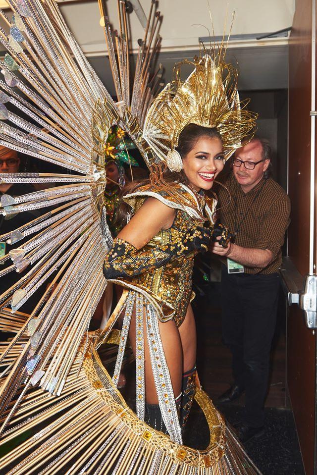 Top 10 quốc phục chất khỏi bàn chỉ có ở Miss Universe 2019: Hoàng Thùy trình diễn cafe phin xuất sắc-6