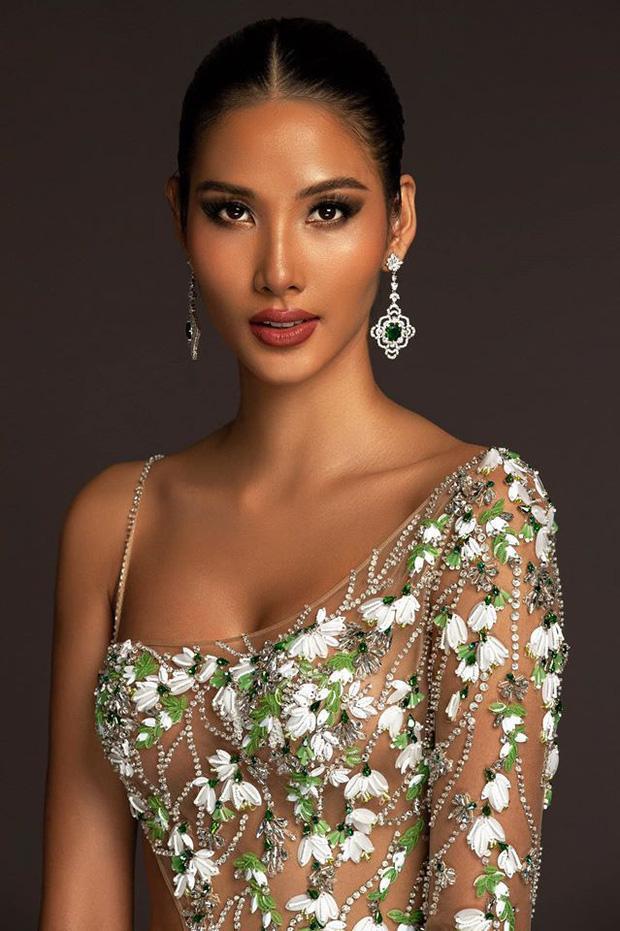 Top 15 trang phục dạ hội ở bán kết Miss Universe: Hoàng Thùy diện đầm hoa giọt tuyết tái hiện cú xoay váy thần thánh-3