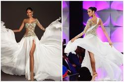 Top 15 trang phục dạ hội ở bán kết Miss Universe: Hoàng Thùy diện đầm 'hoa giọt tuyết' tái hiện cú xoay váy thần thánh