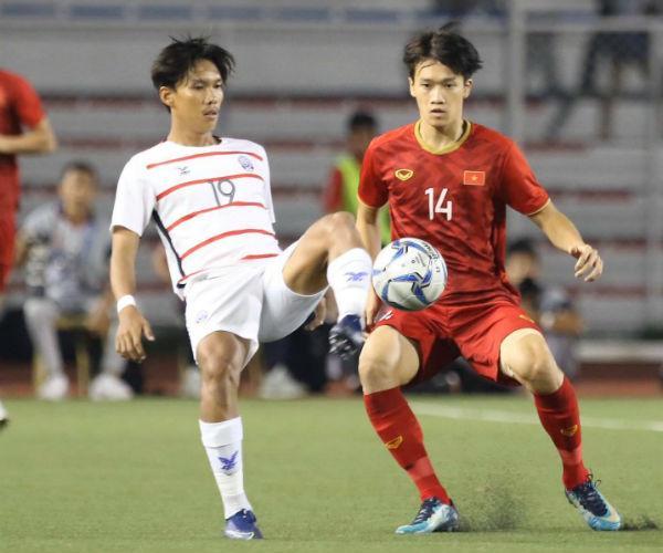 Đức Chinh lập hat-trick, chính thức trở thành vua phá lưới của Sea Games 30-2