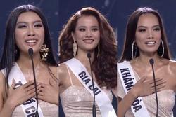 TRỰC TIẾP chung kết Hoa hậu Hoàn vũ Việt Nam 2019: Thúy Vân và Lê Hoàng Phương vào top 15