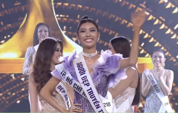 Thúy Vân đoạt giải Á hậu 2-1