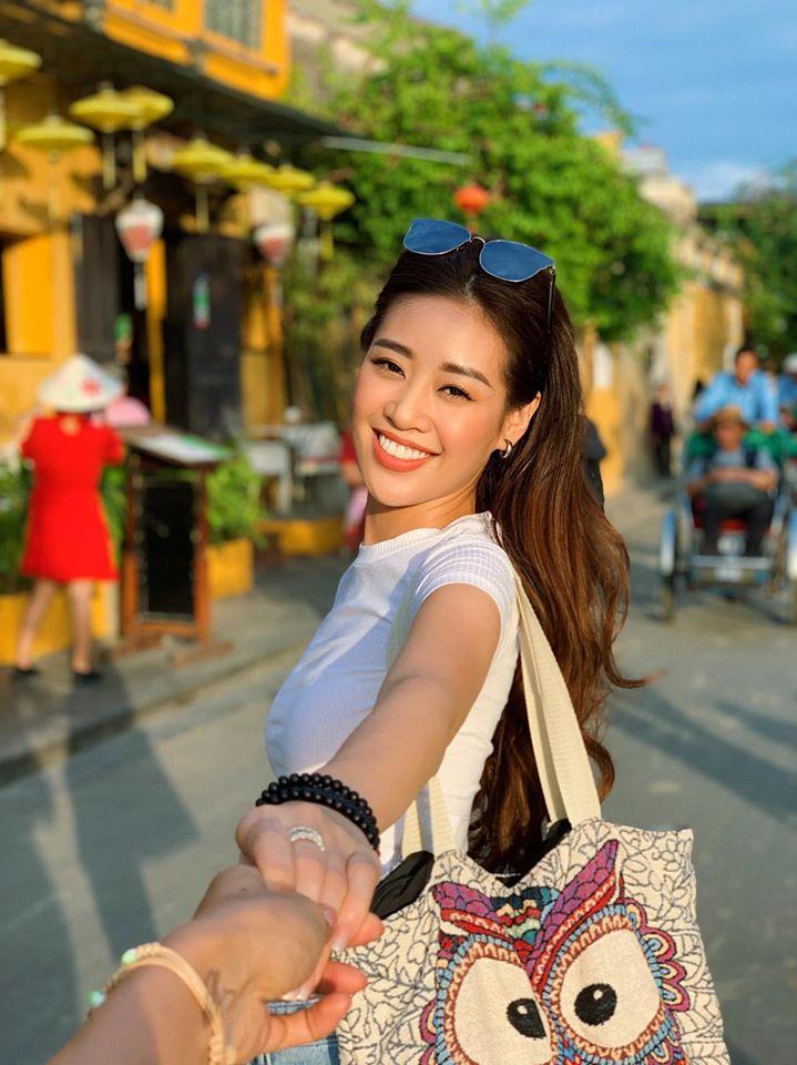 Cận cảnh nhan sắc Nguyễn Trần Khánh Vân - tân Hoa hậu Hoàn vũ Việt Nam 2019-6