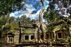 Kiến trúc cổ xưa của công trình tôn giáo nổi tiếng Campuchia