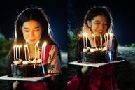 Hoàng Yến Chibi khóc như đứa trẻ khi được tổ chức sinh nhật lúc một giờ sáng