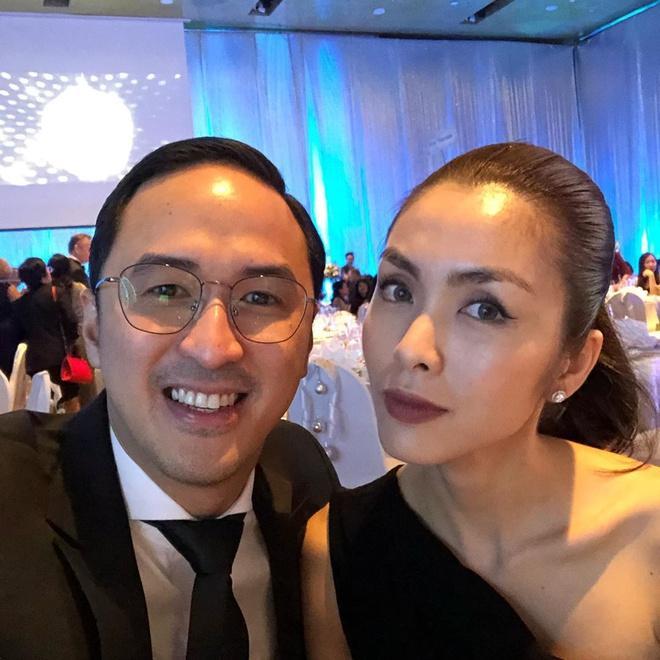 Tăng Thanh Hà và chồng sánh đôi dự sự kiện-2
