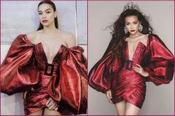 Hồ Ngọc Hà khoe vòng 1 lấn át cả Ngọc Trinh, chấp cả Hoa hậu Siêu quốc gia châu Á Ngọc Châu khi đụng hàng