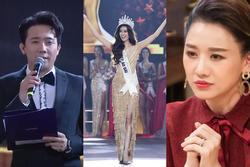 Trấn Thành hết lời khen ngợi Nguyễn Trần Khánh Vân, Hari Won lập tức 'kèn cựa' tân hoa hậu