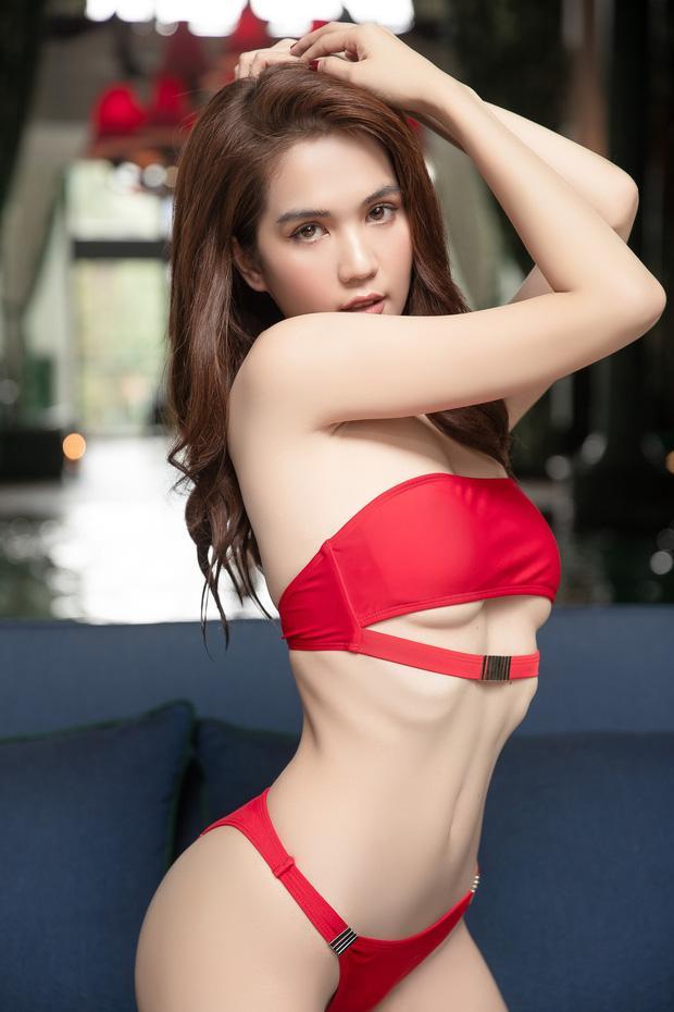 Diện bikini chẳng khác nào nội y, Ngọc Trinh thông báo vòng eo đạt ngưỡng 55cm-4