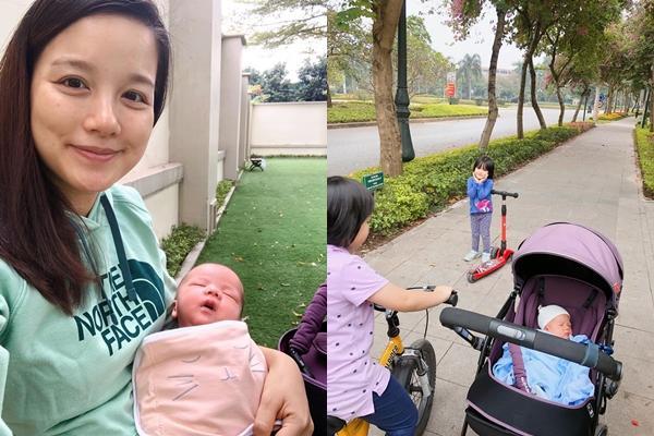 Khoe mặt mộc sau chưa đầy 1 tháng sinh con thứ 4, MC Minh Trang làm ai cũng xuýt xoa trước thần thái hơn người-2