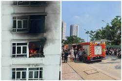 Cháy tầng 12 chung cư Hoàng Anh Goldhouse, nhiều người tháo chạy