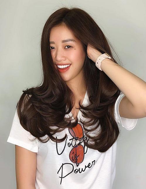 Nhan sắc ít son phấn của top 3 Hoa hậu Hoàn vũ Việt Nam-2