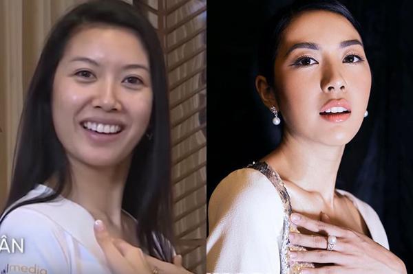 Nhan sắc ít son phấn của top 3 Hoa hậu Hoàn vũ Việt Nam-9