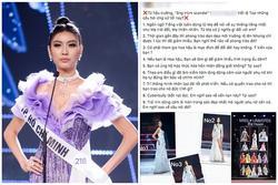 Nghi vấn thí sinh biết trước câu hỏi ứng xử tại Hoa hậu Hoàn vũ 2019