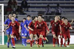 Dàn sao Việt tưng bừng ăn mừng chức vô địch SEA Games của tuyển bóng đá nữ Việt Nam