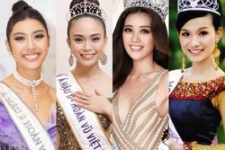 So kè diễn xuất của 4 người đẹp thành danh từ Hoa hậu Hoàn vũ Việt Nam: Thùy Lâm nổi bật, Khánh Vân nhạt nhòa