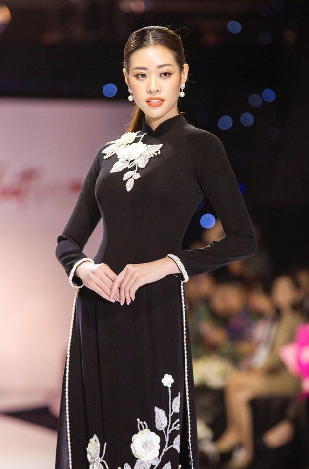Thắng giải áo dài tại liên tiếp 3 cuộc thi nhan sắc, hoa hậu Khánh Vân diện Quốc phục Việt đẹp tới cỡ nào?-13