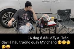 Sơn Tùng M-TP đăng ảnh 'ngầu quên sầu', fan ồ ạt khẳng định: 'Đây là hậu trường quay MV mới'