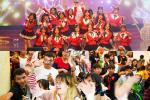 Nhóm nhạc Việt siêu đông khổng lồ gây chú ý với 'vũ điệu cơm nắm'-1