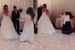 Xôn xao chú rể bị bạn gái cũ cưỡng hôn trong đám cưới nhưng đáng chú ý là phản ứng của cô dâu