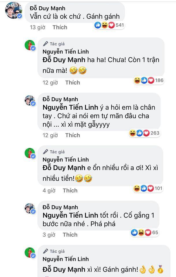 Hải Quế, Duy Mạnh trêu Tiến Linh từ phá đội thành gánh team-1