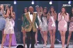 TRỰC TIẾP chung kết Miss Universe 2019: Hoàng Thùy và 89 thí sinh đồng diễn mở màn