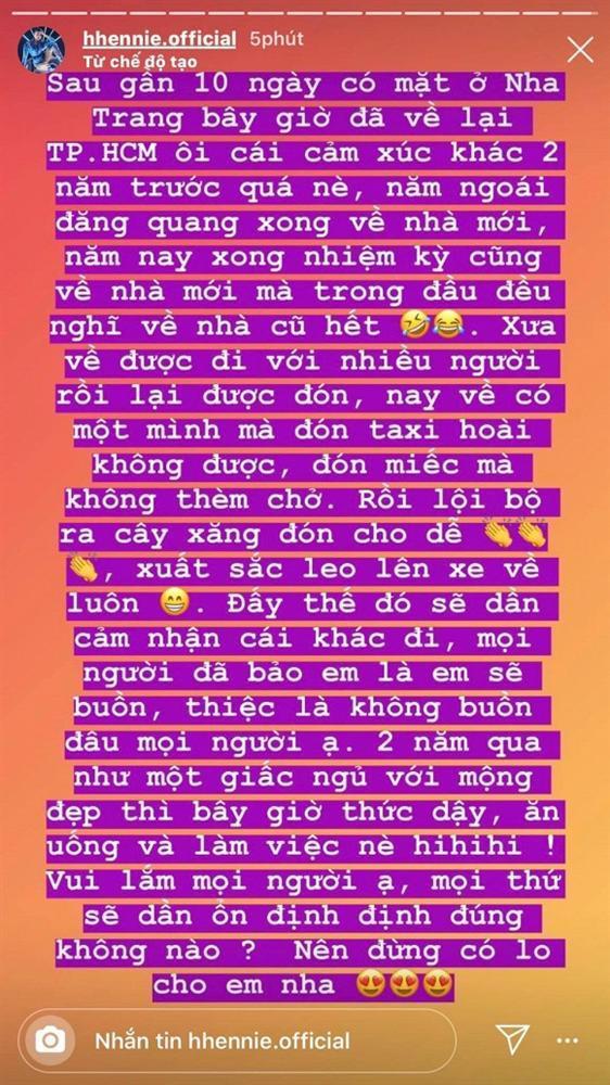 HHen Niê tâm sự xúc động ngay sau khi kết thúc nhiệm kỳ Hoa hậu Hoàn vũ Việt Nam-1