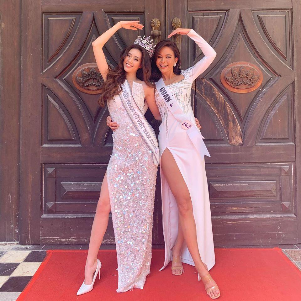 Vừa đăng quang, Hoa hậu Hoàn vũ Khánh Vân bất ngờ bị so sánh với Hoa hậu Việt Nam 2016 Đỗ Mỹ Linh-2