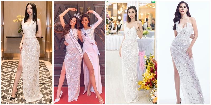Vừa đăng quang, Hoa hậu Hoàn vũ Khánh Vân bất ngờ bị so sánh với Hoa hậu Việt Nam 2016 Đỗ Mỹ Linh-9