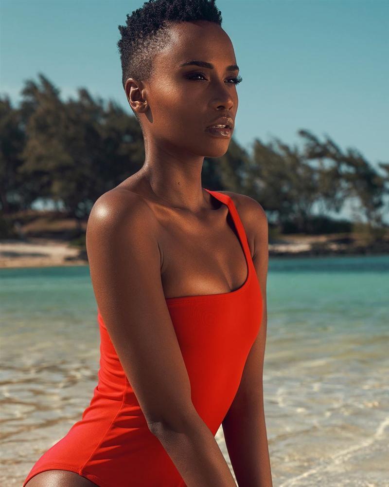 Nhan sắc độc và lạ của cô gái Nam Phi vừa đăng quang Hoa hậu Hoàn vũ 2019-15