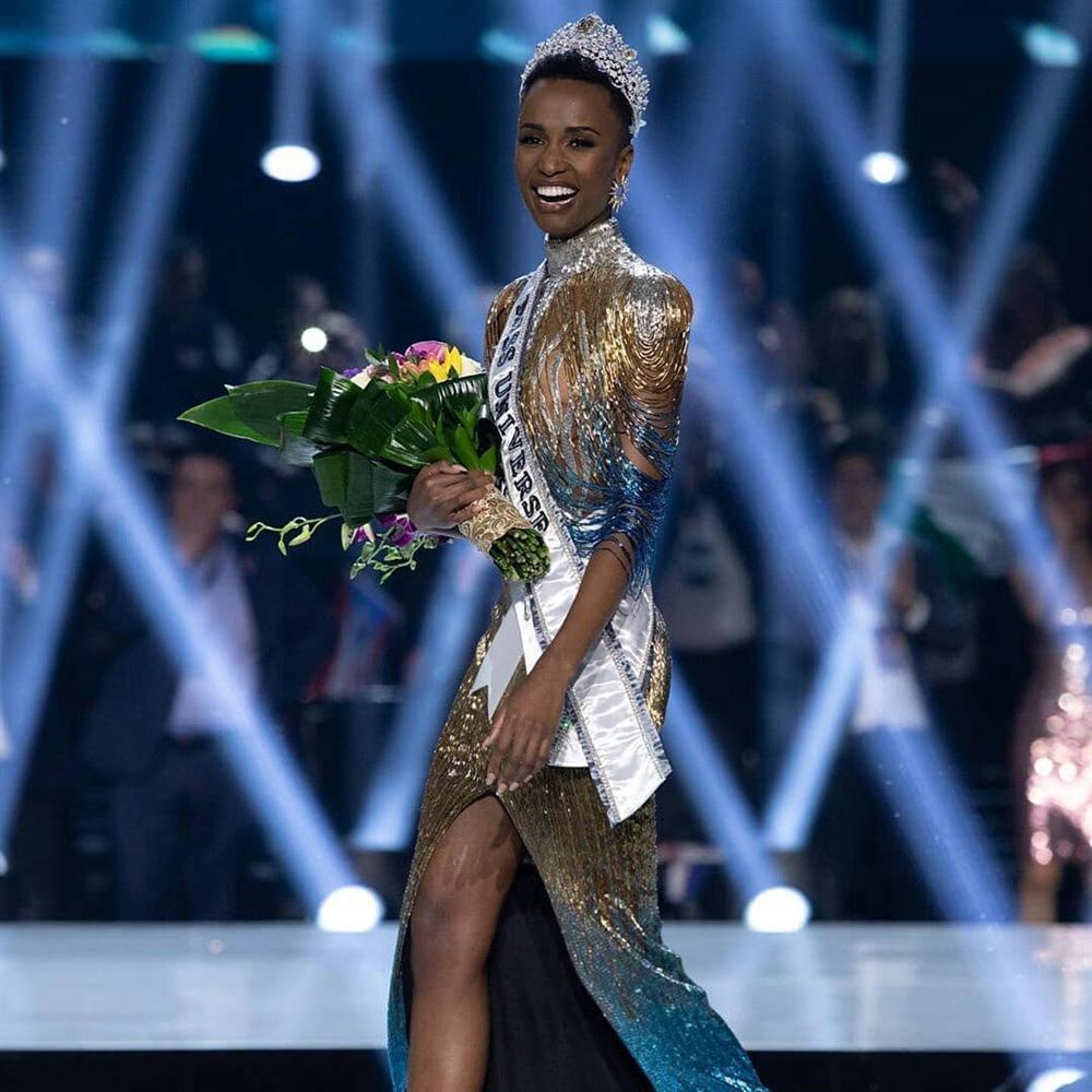 Nam Phi đăng quang Hoa hậu Hoàn vũ 2019-4