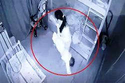 Tạm giữ nữ giúp việc dốc ngược chân bé gái 13 tháng tuổi ở Nghệ An
