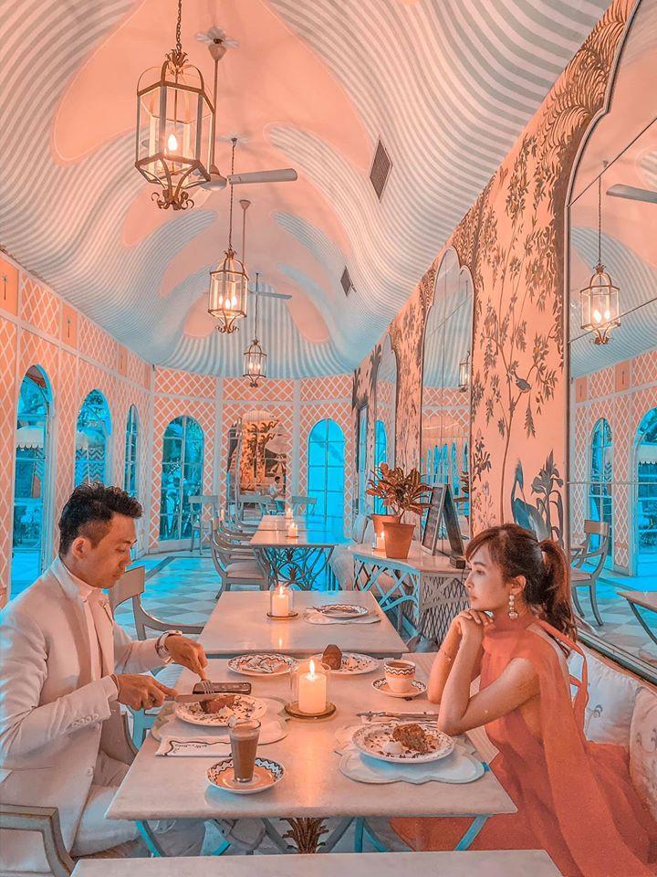 Sang tận Ấn Độ chụp ảnh cưới nhưng đôi guốc ngoại cỡ của vợ hai Minh Nhựa mới giật mọi spotlight-4