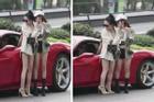 Tưởng cao như người mẫu, 2 gái xinh làm người xem giật mình khi nhìn dung nhan thật