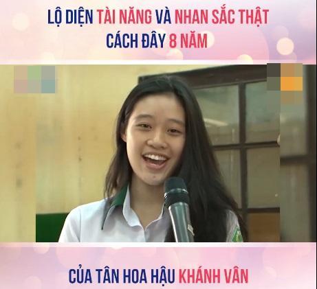Tài năng và nhan sắc thật sự của Hoa hậu Khánh Vân cách đây 8 năm được khen ngợi hết lời-2