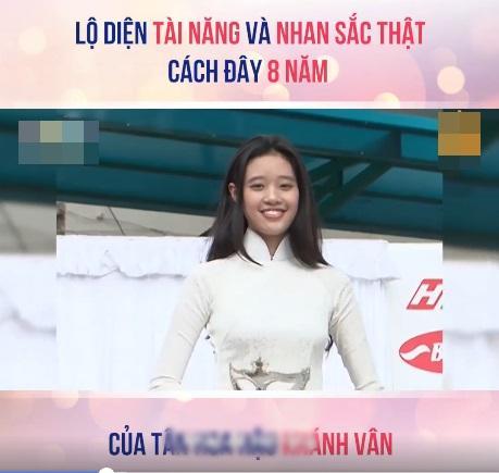 Tài năng và nhan sắc thật sự của Hoa hậu Khánh Vân cách đây 8 năm được khen ngợi hết lời-3