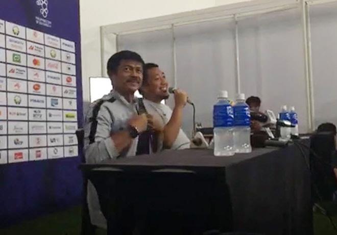 Trước trận đại chiến giành HCV Sea Games 30, HLV Indonesia lại cà khịa gắt thầy Park-1