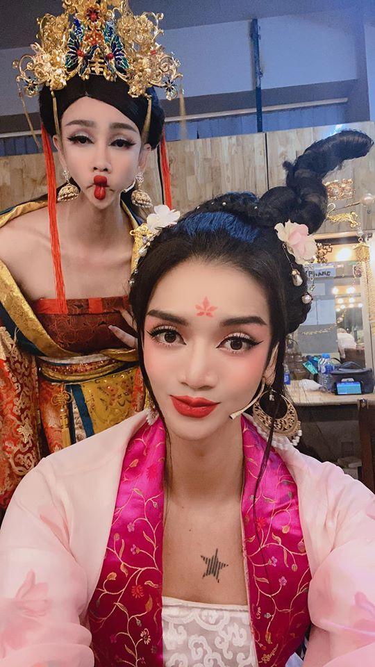 Lạm dụng app chụp ảnh, BB Trần - Hải Triều từ tiên nữ hóa yêu tinh-1
