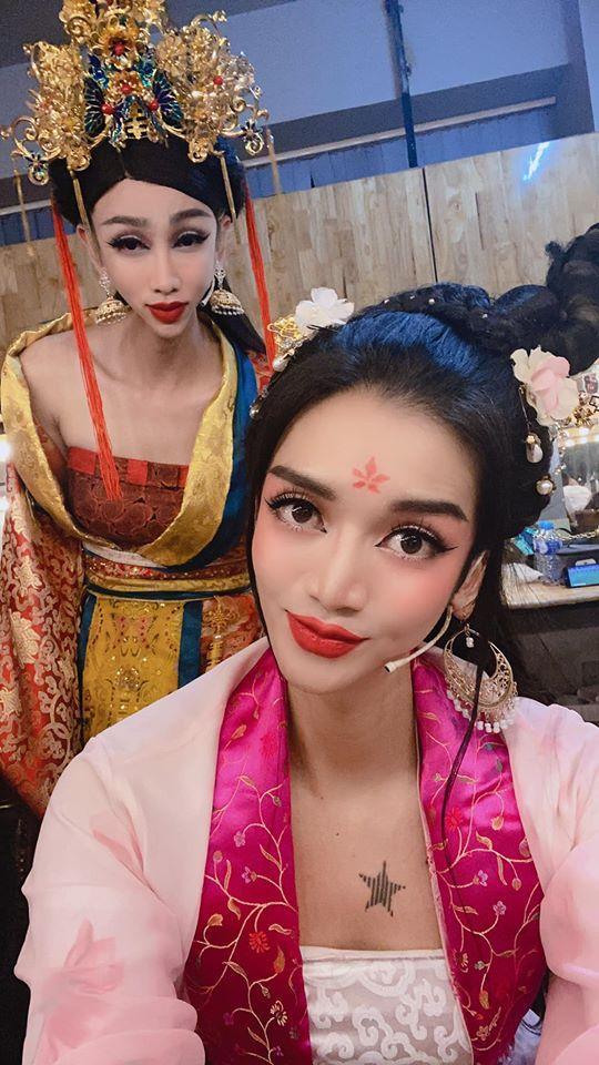 Lạm dụng app chụp ảnh, BB Trần - Hải Triều từ tiên nữ hóa yêu tinh-2