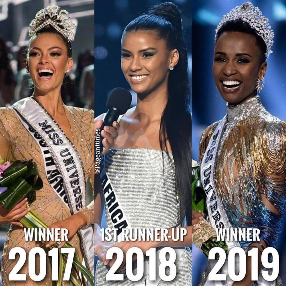 CHOÁNG NGỢP: Nam Phi đoạt 2 vương miện Hoa hậu Hoàn vũ chỉ trong vòng 3 năm-1