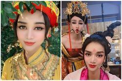 Lạm dụng app chụp ảnh, BB Trần - Hải Triều từ tiên nữ hóa yêu tinh